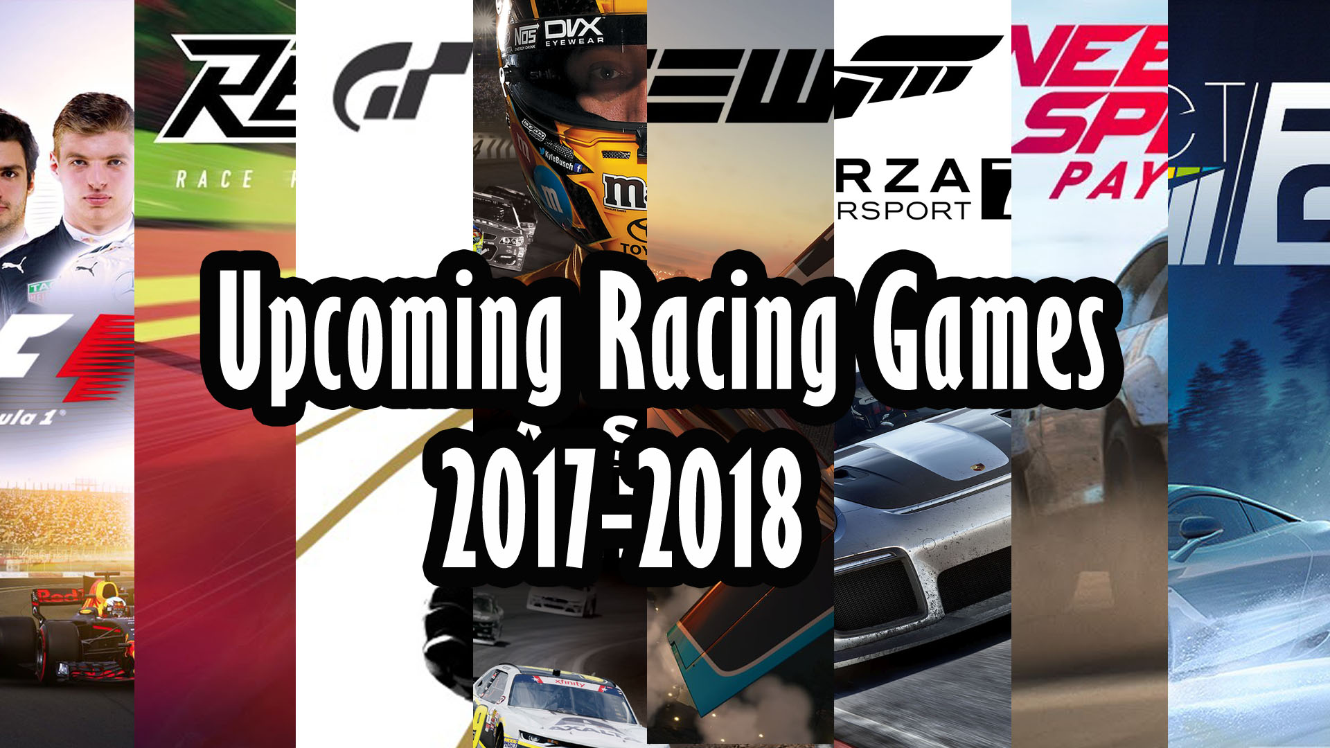 top 8 upcoming racing games august 2017 april 2018 ps4 xbox one pc tech profis. Black Bedroom Furniture Sets. Home Design Ideas